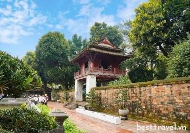 Tham quan Văn Miếu – Quốc Tử Giám trong chuyến du lịch Hà Nội tháng 6