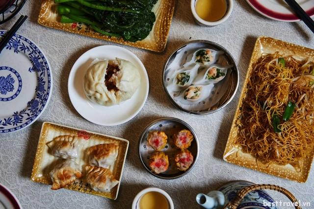 Dimsum của Nom Wah Tea Parlor được đánh giá cao nhờ hương vị ngon miệng và hình thức đầy hấp dẫn