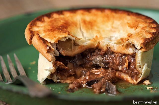 Bánh nhân thịt ở Perth có khá nhiều hương vị đa dạng dành cho thực khách