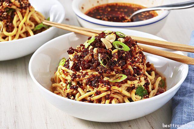Danh sách các món ăn đường phố nổi tiếng ở Thành Đô