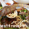 Món ăn đặc sản mì bò ở Đài Loan ngon nức tiếng