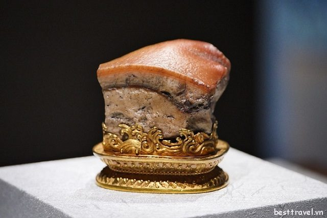 Quốc bảo miếng thịt kho tàu độc đáo nằm ở bảo tàng Cố cung Đài Bắc